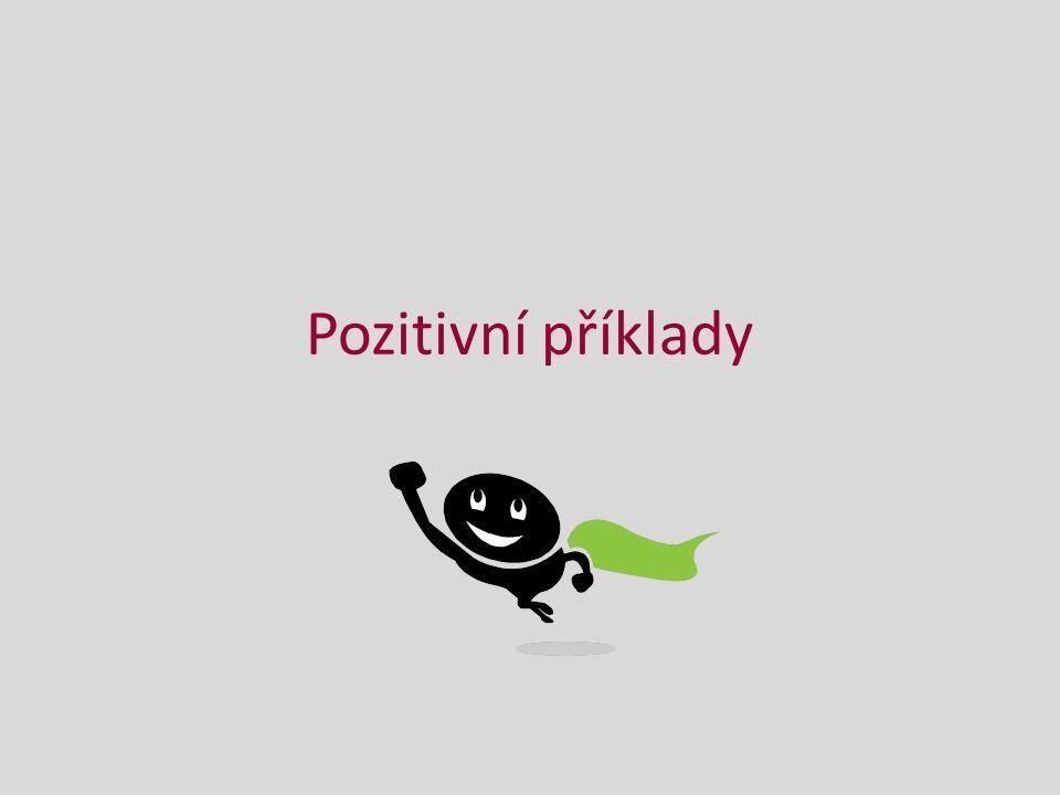 Pozitivní příklady
