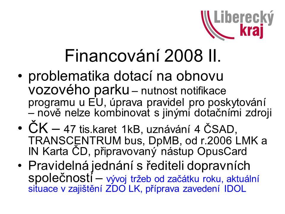 Financování 2008 II.