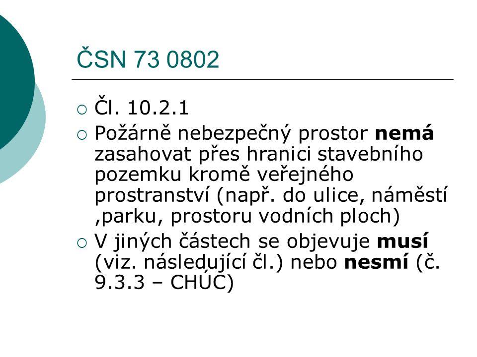 Metodická pomůcka pro SP(2014)  Obecně řeší posuzování dokumentace  Výslovně uvádí, že pokud v PBŘ není řešen přesah PNP přes hranici staveb.