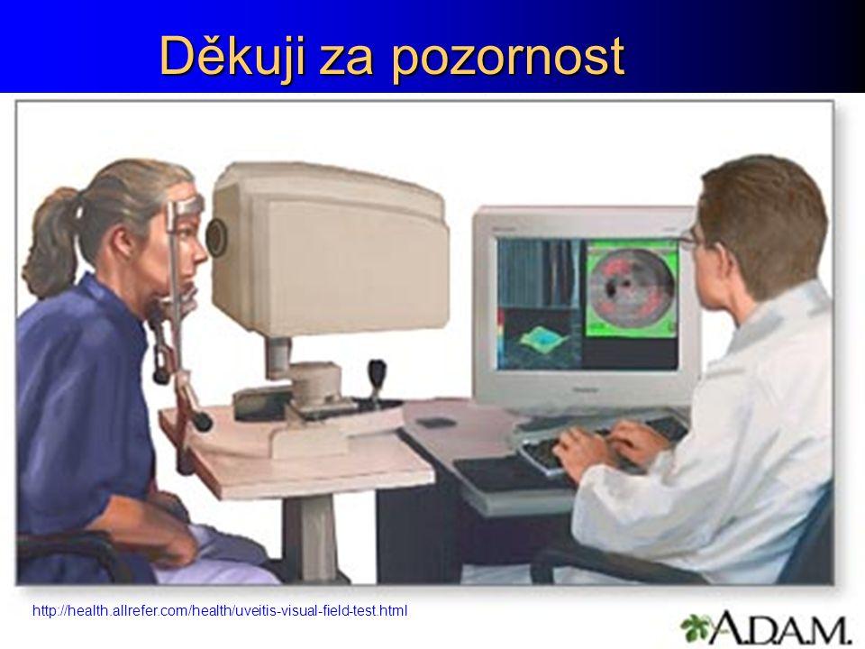 Děkuji za pozornost http://health.allrefer.com/health/uveitis-visual-field-test.html