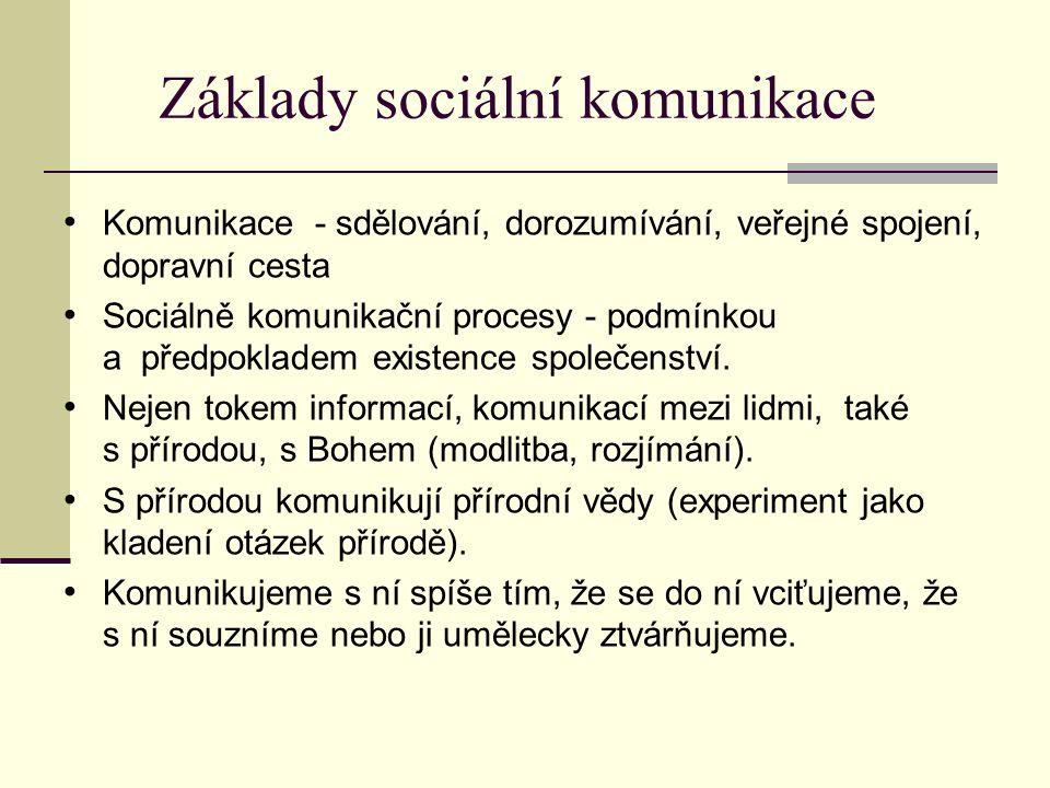 Vývoj sociální komunikace Sociální komunikaci rozlišujeme na: - přímou x nepřímou - verbální x písemnou Vývoj sociální komunikace: I.
