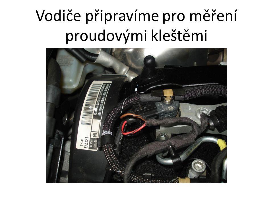Vodiče připravíme pro měření proudovými kleštěmi