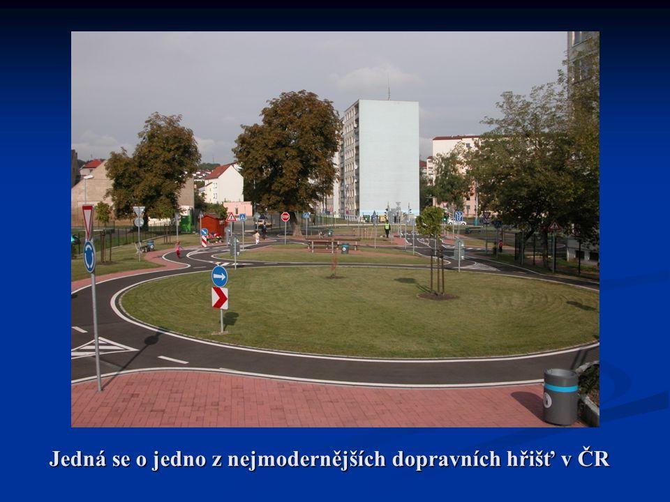 Jedná se o jedno z nejmodernějších dopravních hřišť v ČR