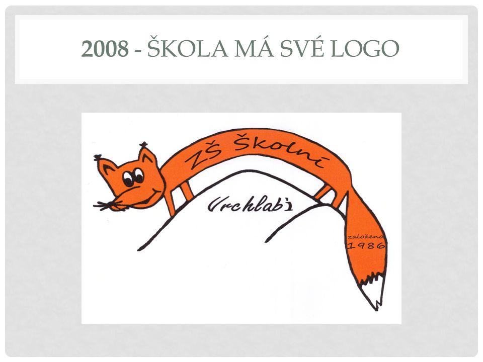 2008 - ŠKOLA MÁ SVÉ LOGO