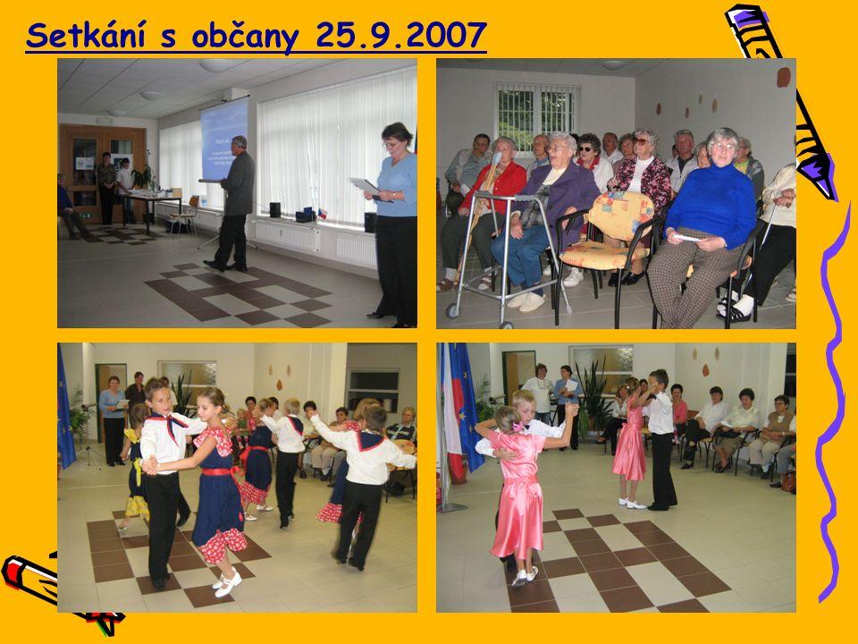 Setkání s občany 25.9.2007