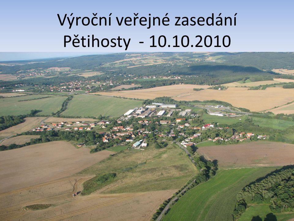 Výroční veřejné zasedání Pětihosty - 10.10.2010