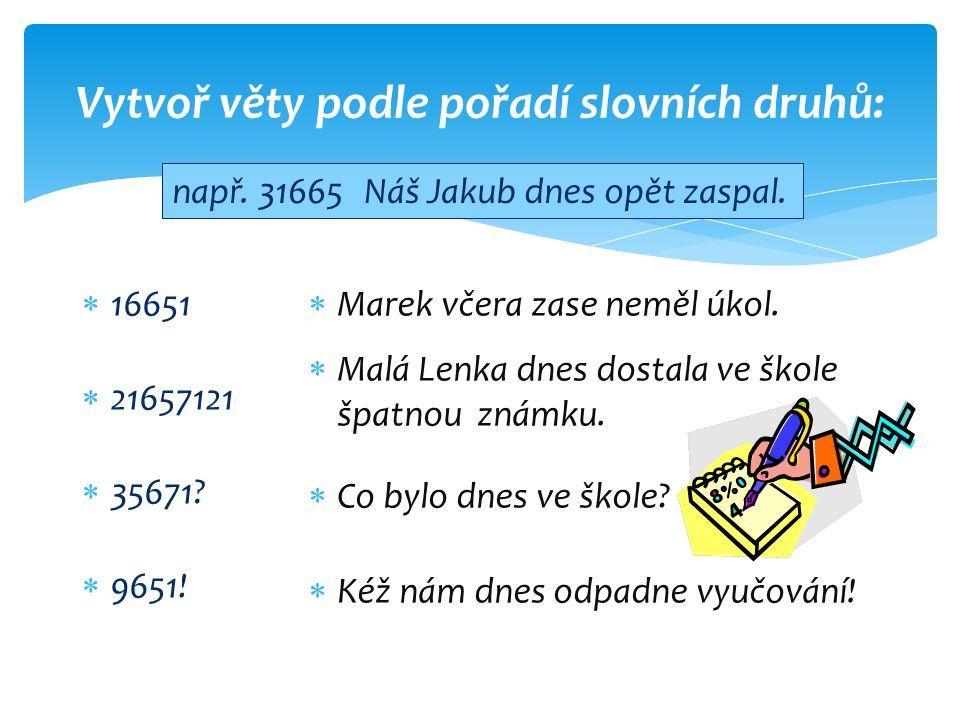 Zdroj : SCHNEIDEROVÁ, Eva.Kuna nese nanuk aneb zábavná cvičení z češtiny.