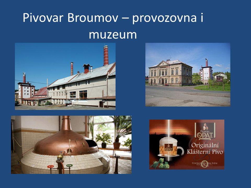 Pivovar Broumov – provozovna i muzeum