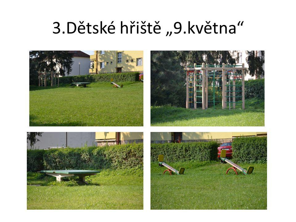 """4.Dětské hřiště """"Z.Kopala"""