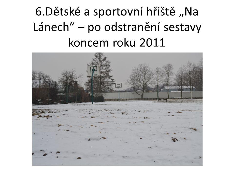 7.Dětské a sportovní hřiště nad Nadějí