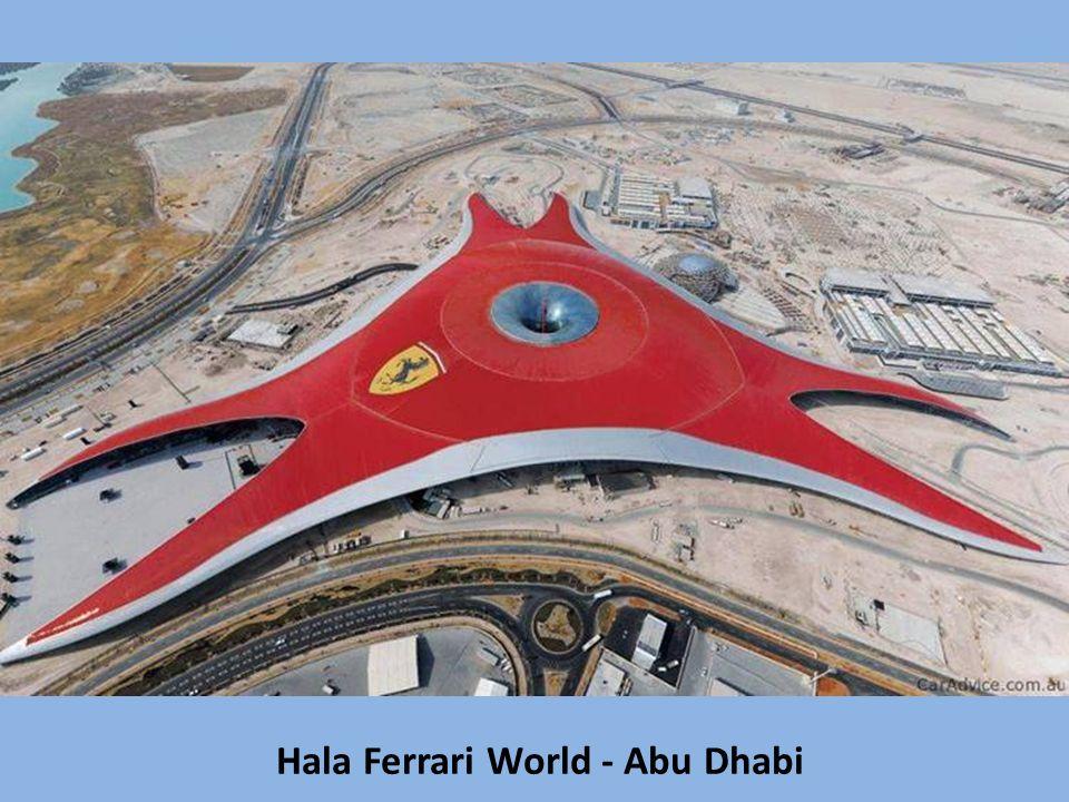 Hala Ferrari World - Abu Dhabi
