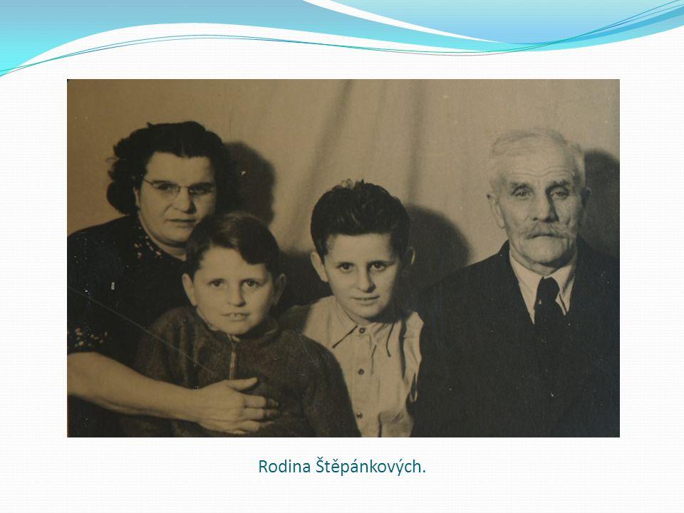 Rodina Štěpánkových.
