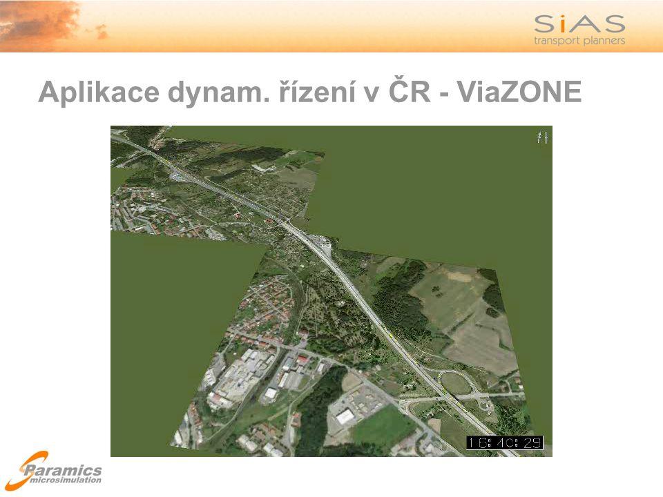 Aplikace dynam. řízení v ČR - ViaZONE