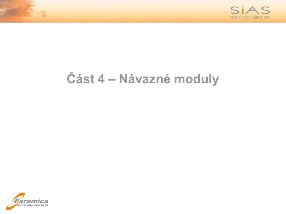 Část 4 – Návazné moduly