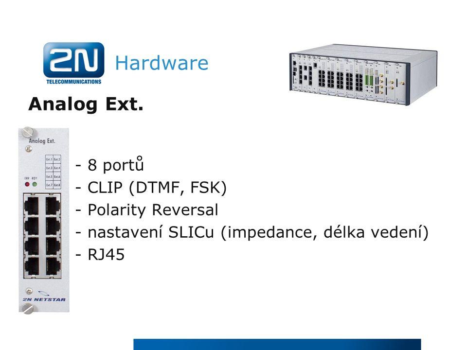 Hardware Analog Ext.