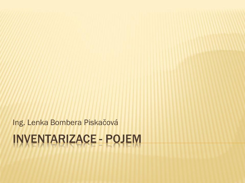 Číslo projektu CZ.1.07/1.5.00/34.0124 Název projektu DUM Škola budoucnosti s využitím IT VY_12_INOVACE_OV39 Název školy SPŠ a SOŠGS Most Předmět Odborný výcvik Tematická oblast Provoz obchodu Téma Inventarizace Ročník 2.