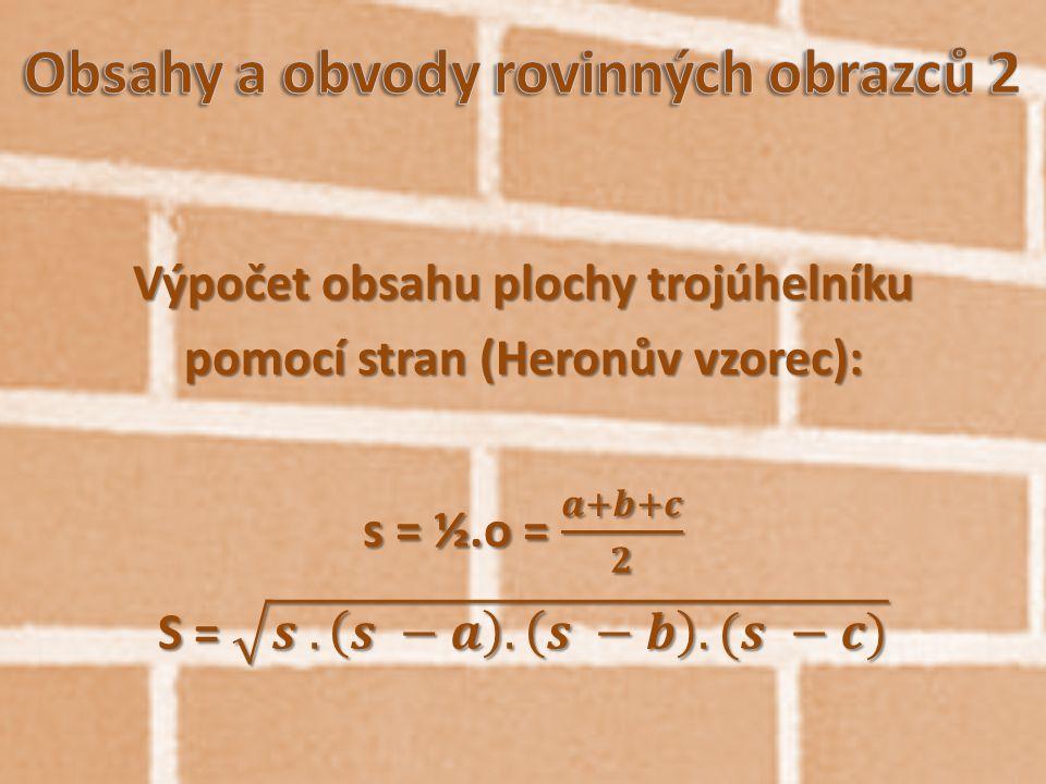 "6.K r u h, k r u ž n i c e (kruh = celá plocha, kružnice = ""čára okolo) S = π.r 2 o = π.d = 2.π.r"