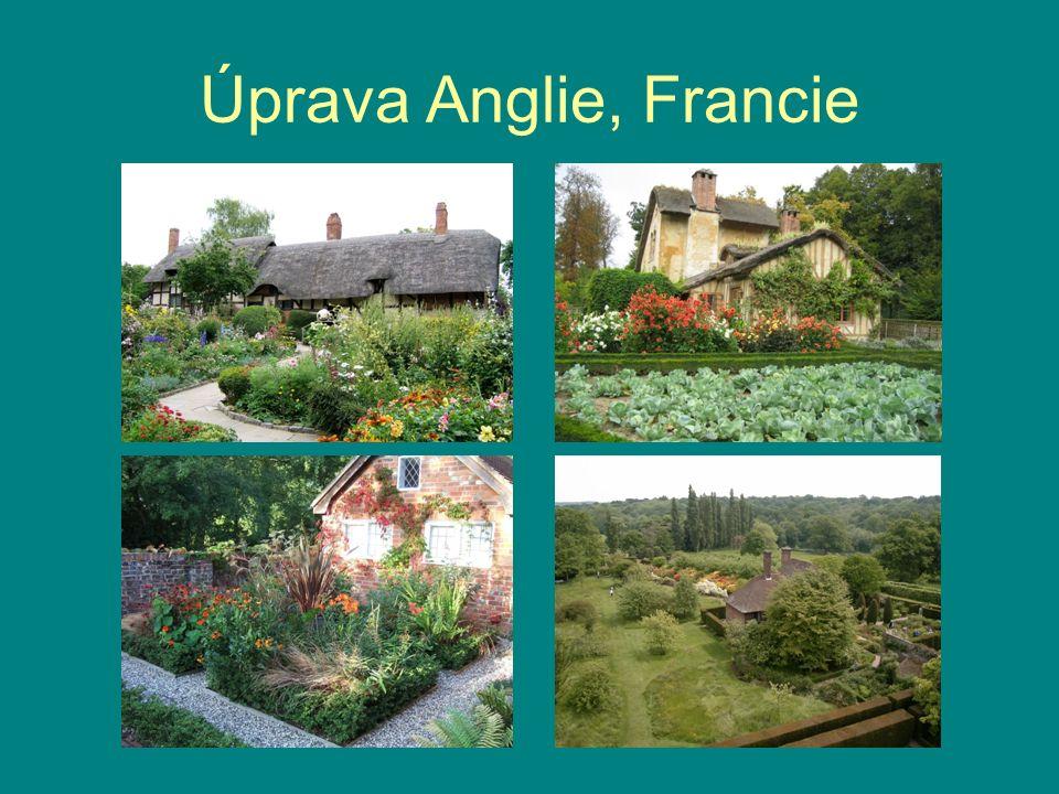 Úprava Anglie, Francie