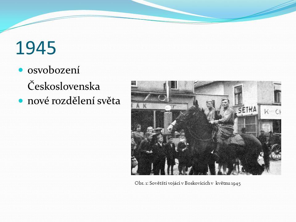 1945 osvobození Československa Obr.