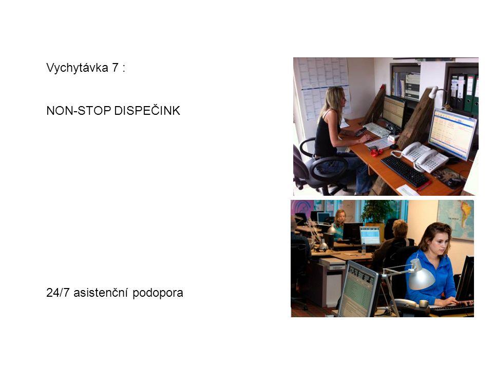 Vychytávka 7 : NON-STOP DISPEČINK 24/7 asistenční podopora