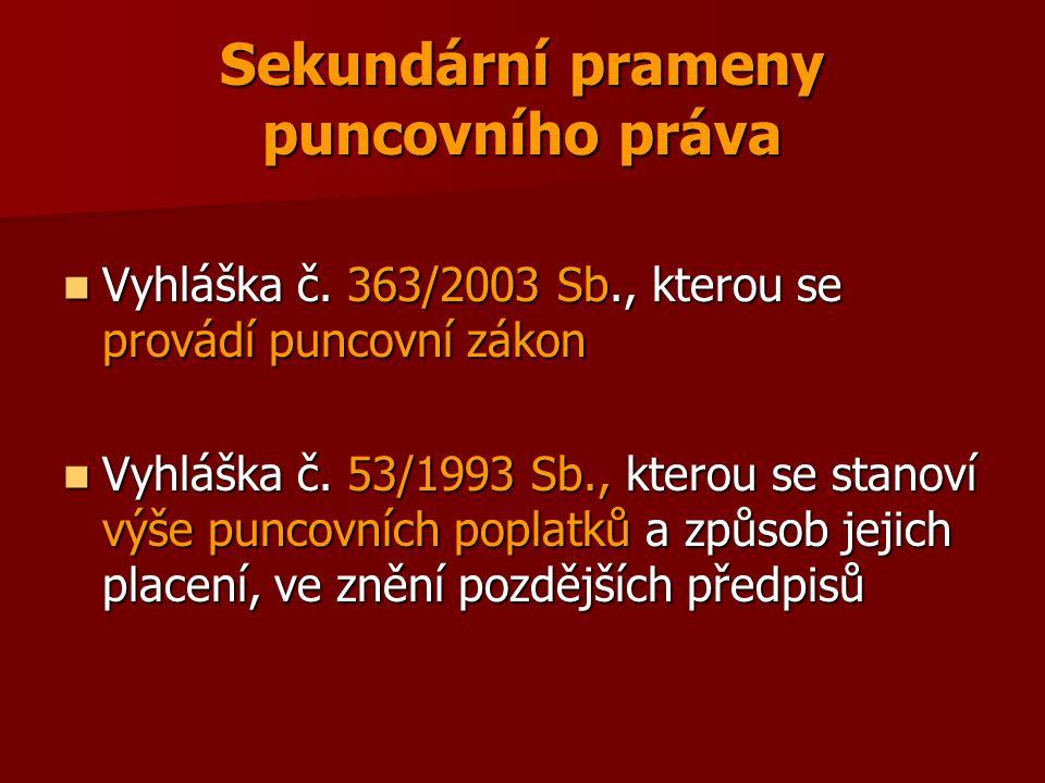 Předepsaný stav zboží Povolené kombinace § 15 Povolené kombinace § 15 Pájení zboží §§ 16 a 17 Pájení zboží §§ 16 a 17