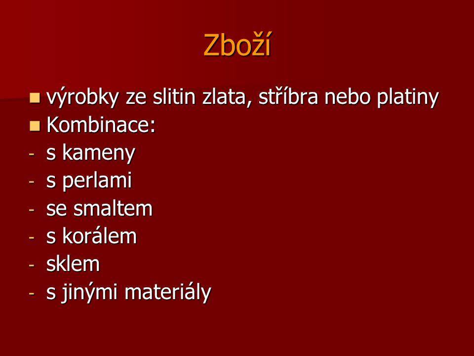 Poplatky Správní poplatky Správní poplatky Puncovní poplatky 364/2003 Sb.