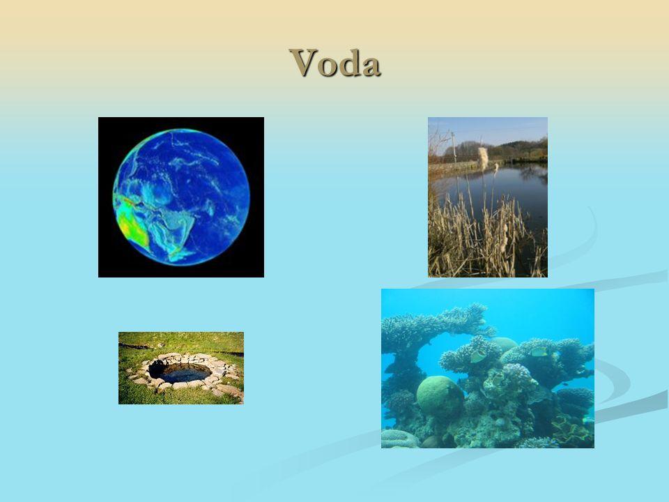 Hydrosféra: Moře a oceány Moře a oceány Povrchová voda Povrchová voda Podzemní voda Podzemní voda Koloběh vody v přírodě (hydrologický cyklus) Koloběh vody v přírodě (hydrologický cyklus)