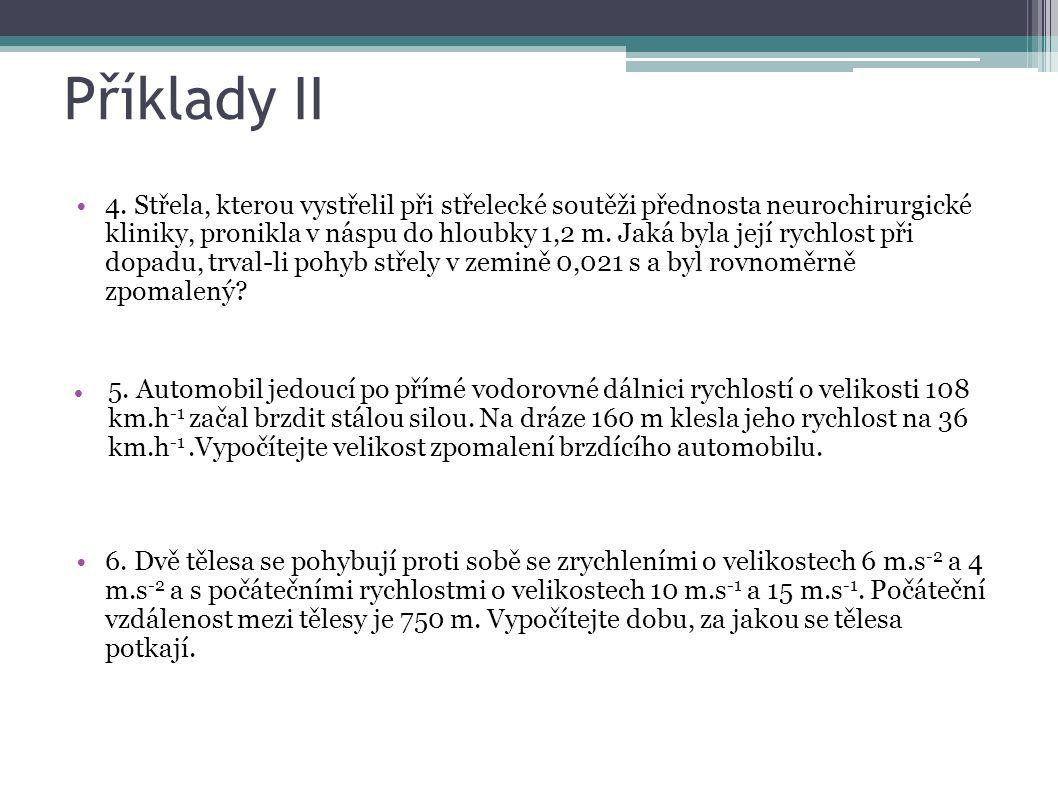 Příklady II 4.