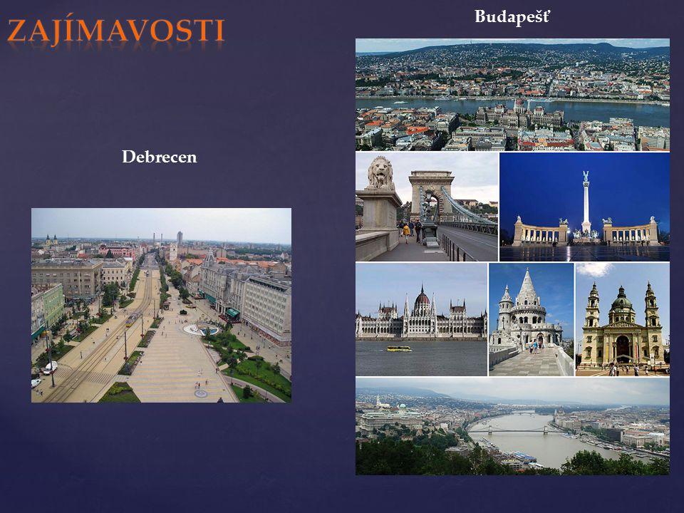 Debrecen Budapešť