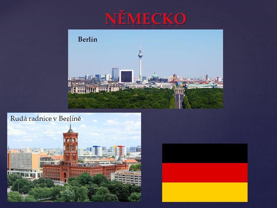 Berlín Rudá radnice v Berlíně
