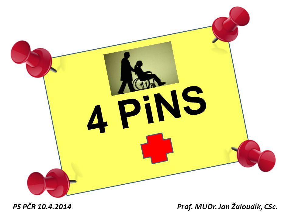 4 PiNS Prof. MUDr. Jan Žaloudík, CSc. PS PČR 10.4.2014