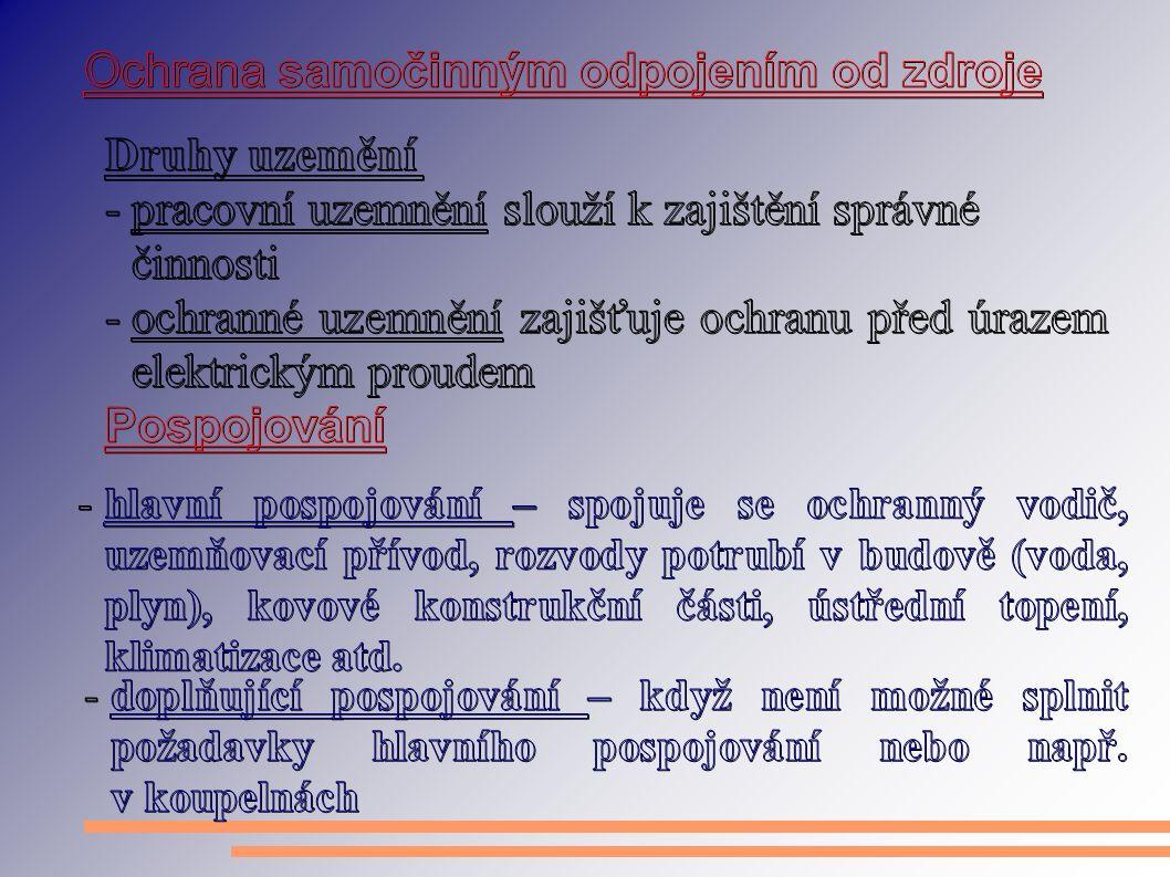 Použitá literatura: [1]http://www.slatinsky.cz/stanoveni-vnejsich-vlivu.html [2]http://fei1.vsb.cz/kat420/vyuka/elektrotechnika/sylaby/ochrana.pdf [3] www.in-el.czwww.in-el.cz [4] http://cs.wikipedia.org/wiki/Proudový_chráničhttp://cs.wikipedia.org/wiki/Proudový_chránič [5]http://school.webz.cz/1/DATs/15.pdf Tento projekt je spolufinancován Evropským sociálním fondem a státním rozpočtem České republiky Střední průmyslová škola Uherský Brod, 2009