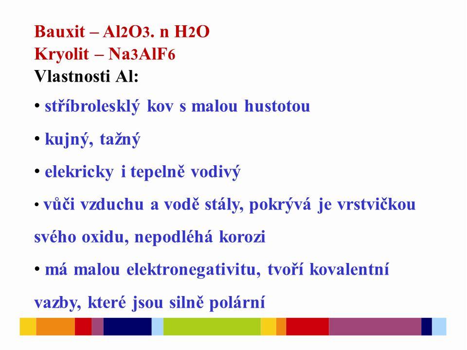 Bauxit – Al 2 O 3.