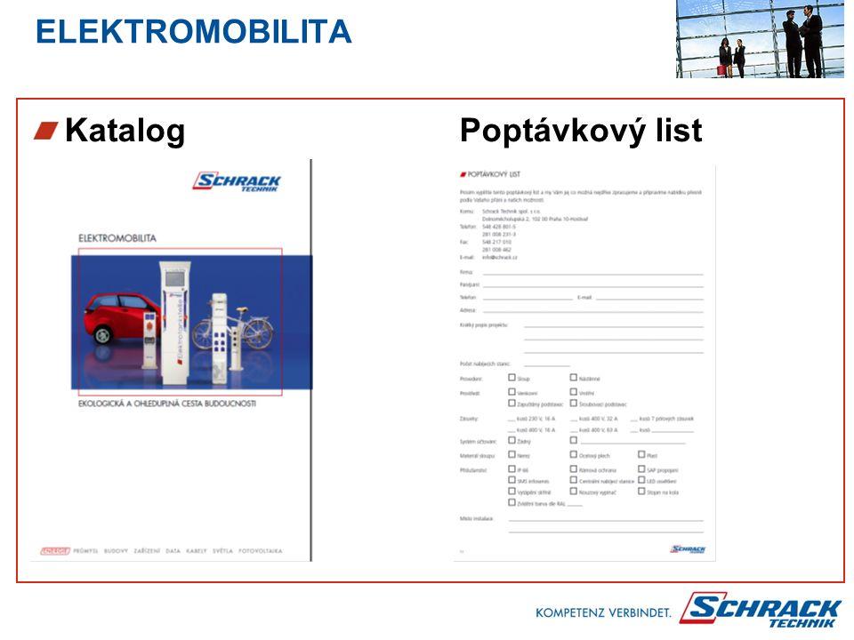ELEKTROMOBILITA KatalogPoptávkový list