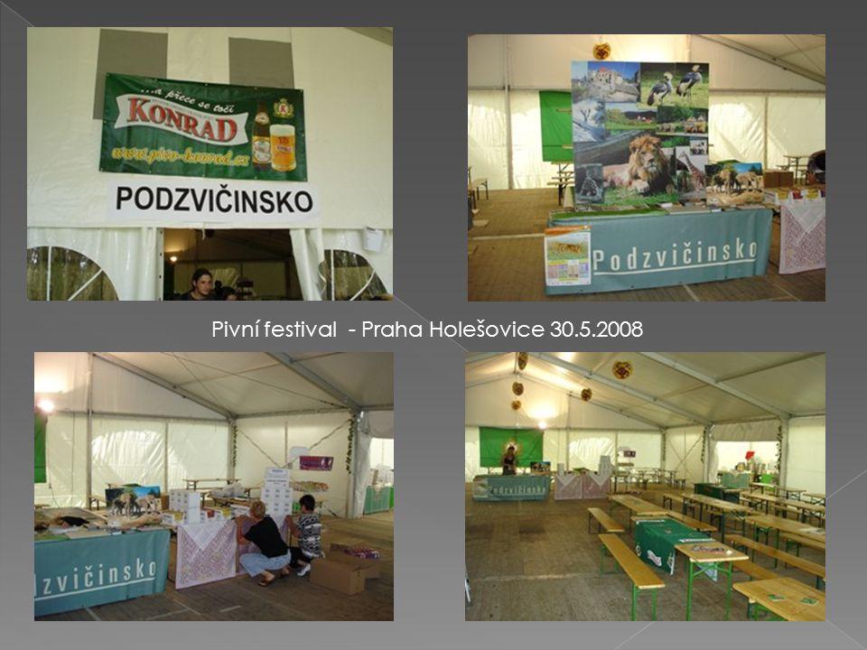 Pivní festival - Praha Holešovice 30.5.2008