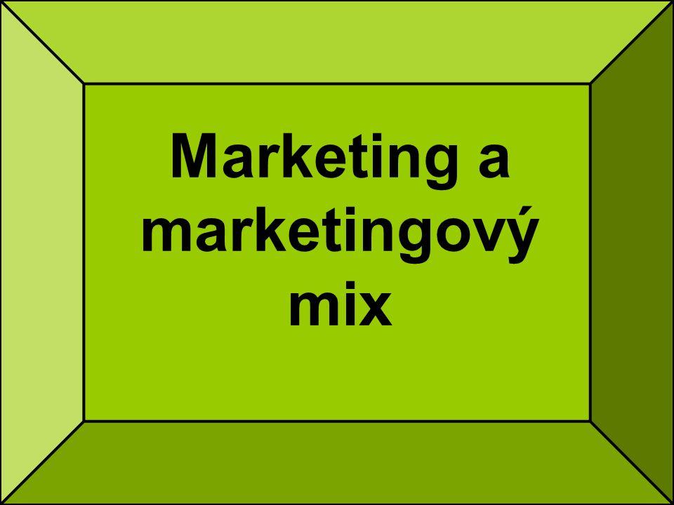 Co je marketing.Marketing =) od angl.