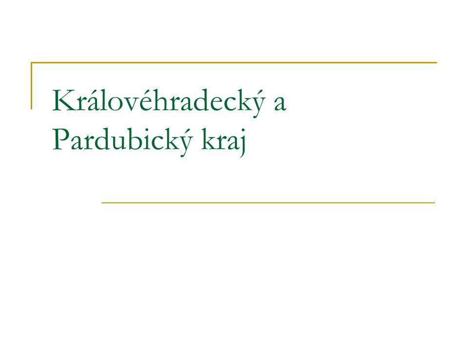 Královéhradecký kraj HRADEC KRÁLOVÉ = krajské město Velká města: Jičín, Náchod, Rychnov nad Kněžnou, Trutnov