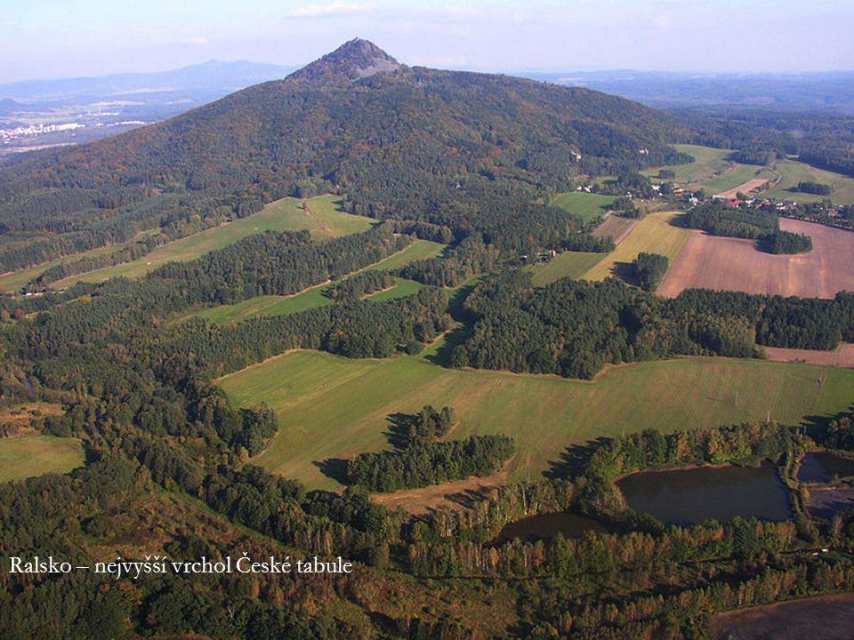 Ralsko – nejvyšší vrchol České tabule