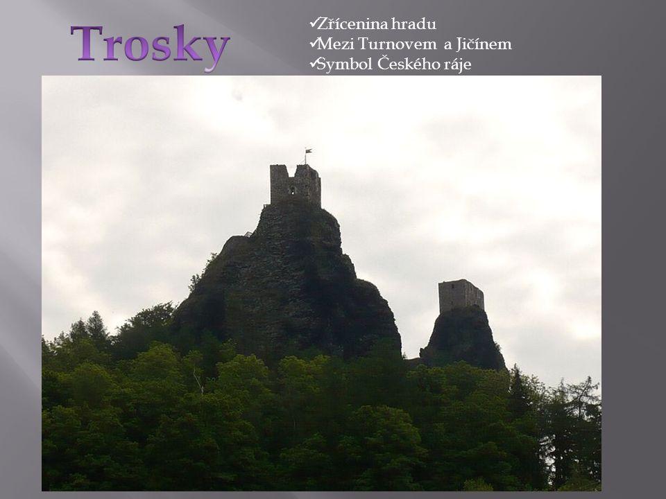 Zřícenina hradu Mezi Turnovem a Jičínem Symbol Českého ráje