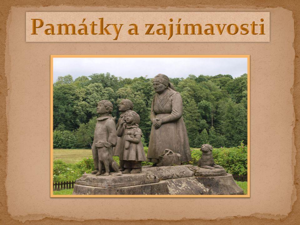 - místo známé z knihy Boženy Němcové - babička - nachází se zde i zámek Ratibořice