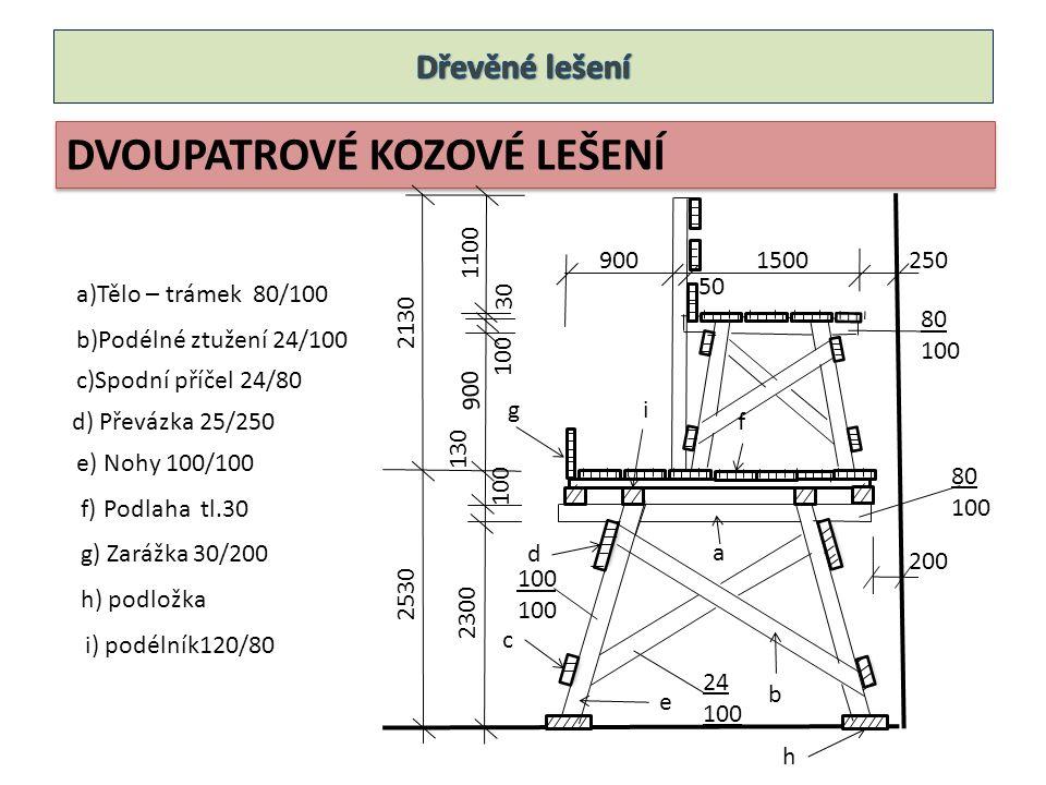 Podlahový dílec typu Z 1200 800 500 100
