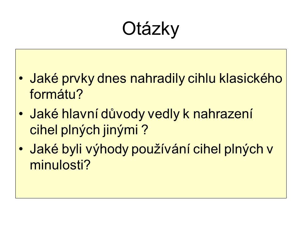 Použitá literatura NOVOTNÝ, Jan; MICHÁLEK, Josef.pozemní stavitelství v kresbách: pro 1.