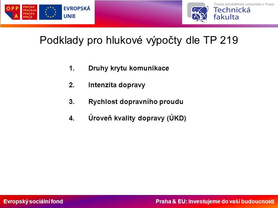Evropský sociální fond Praha & EU: Investujeme do vaší budoucnosti Ad.2.