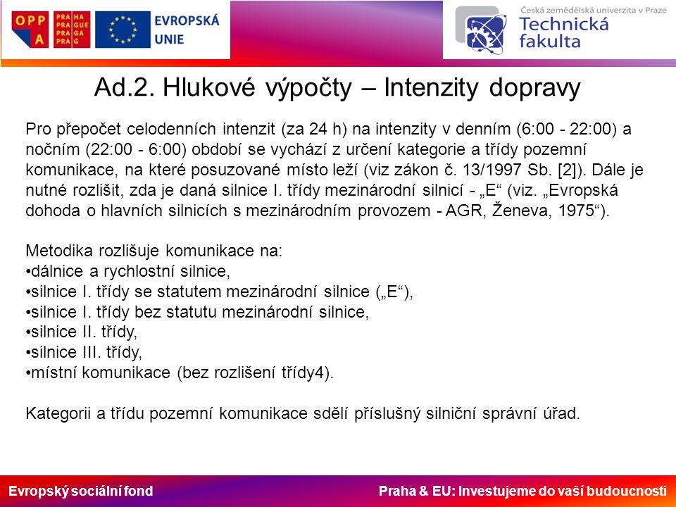 Evropský sociální fond Praha & EU: Investujeme do vaší budoucnosti Na dálnicích a silnicích I.