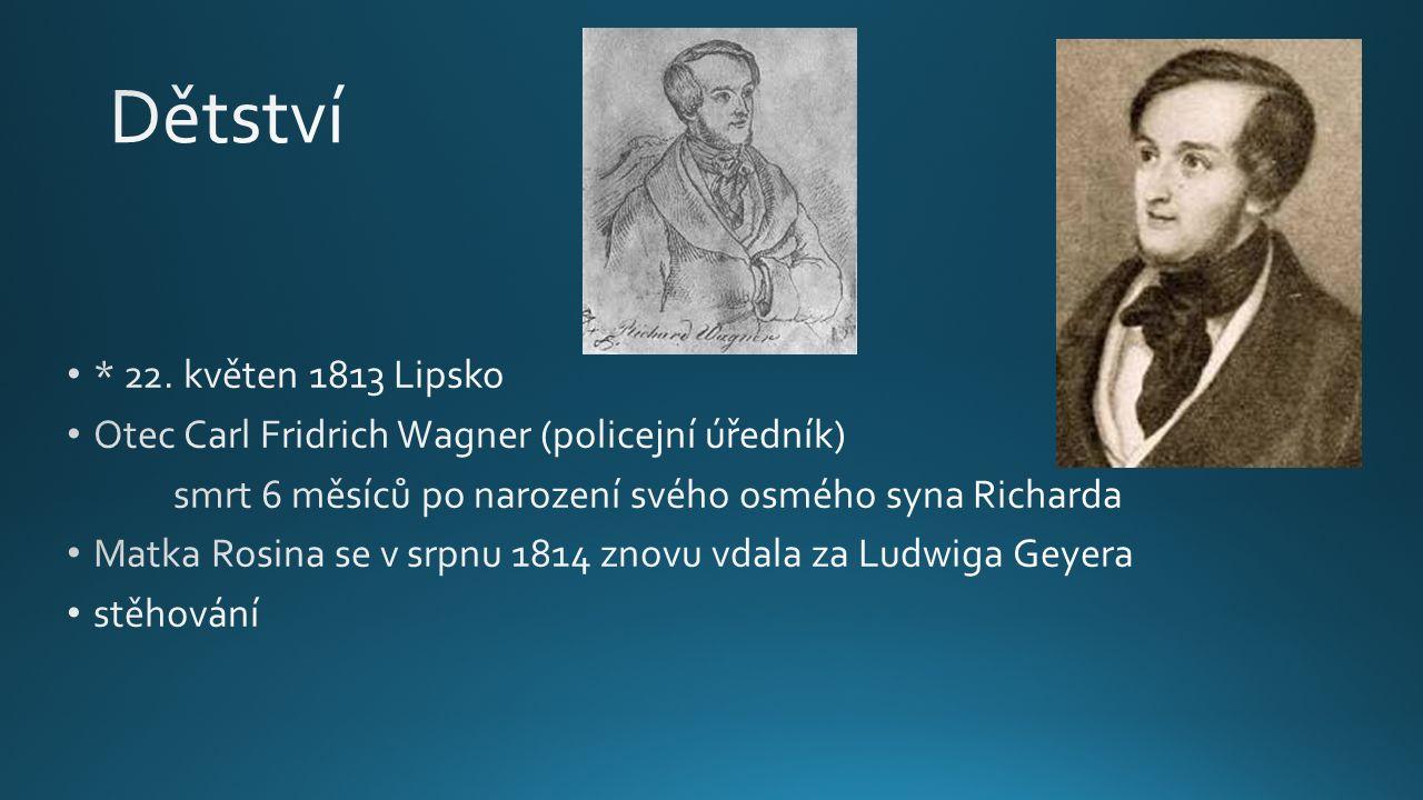 O jeho budoucím zaměření na hudbu rozhodlo okouzlení operou Fidelio od Beethovena Inspirace v Beethovenových symfoniích Od roku 1831 studie na universitě v Lipsku Ve 21 letech kapelníkem v Magdenburku 29.