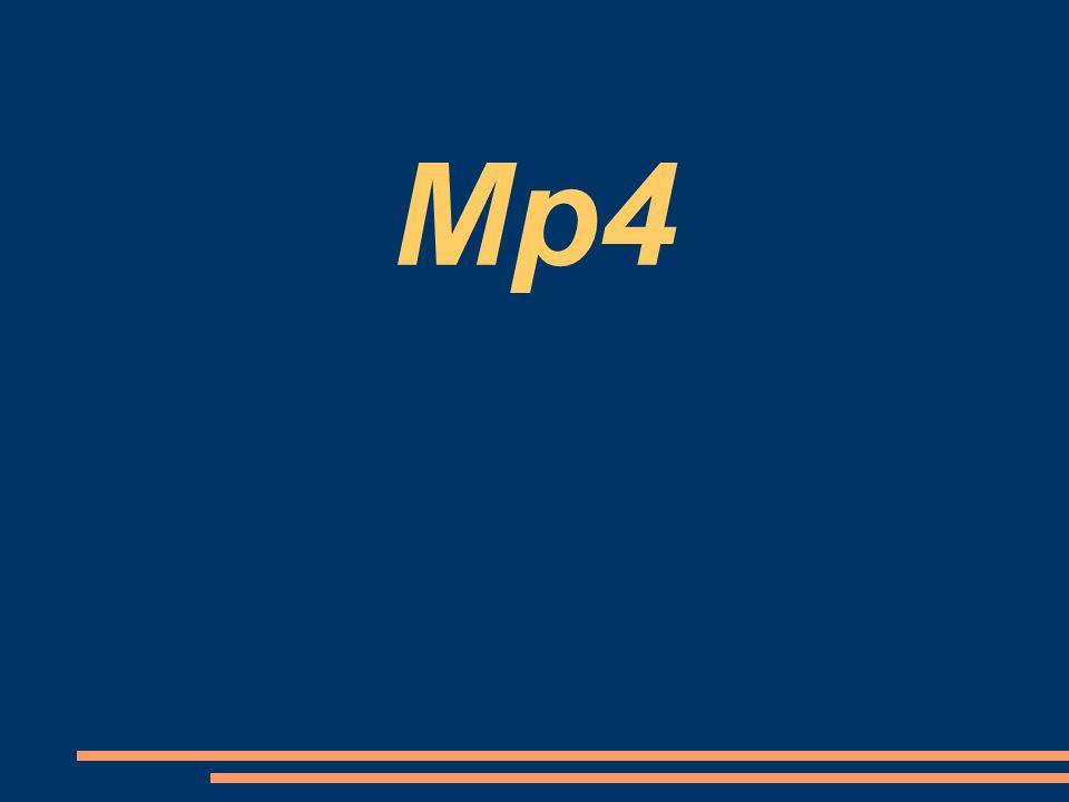 Co je to.MP4 MP4 je multimediální kontejner.