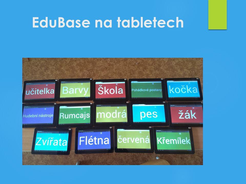 EduBase na tabletech