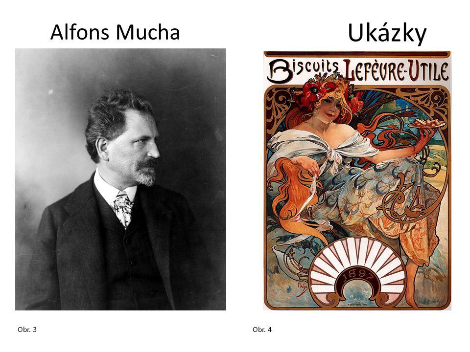 Ukázky Alfons Mucha Obr. 3Obr. 4
