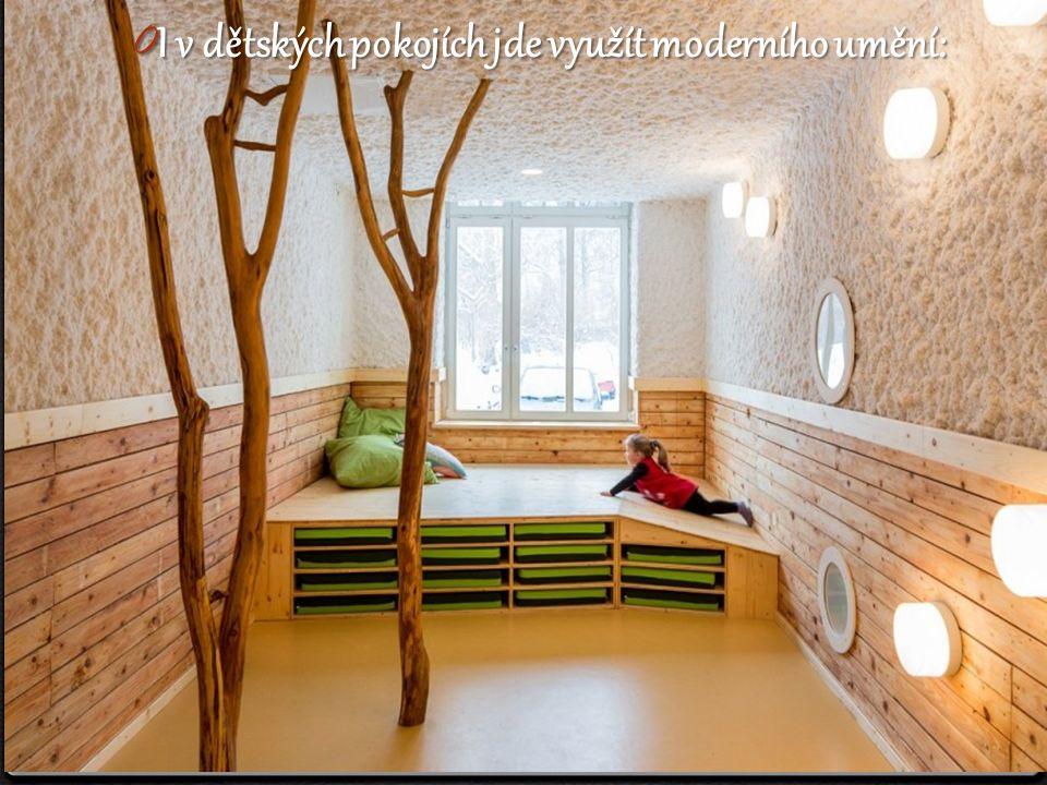 0 I v dětských pokojích jde využít moderního umění: