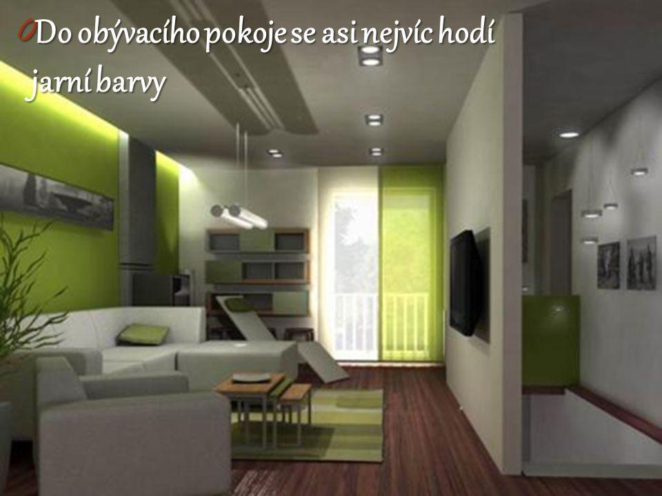0 Do obývacího pokoje se asi nejvíc hodí jarní barvy